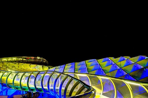 Metropol Parasol: modern Seville