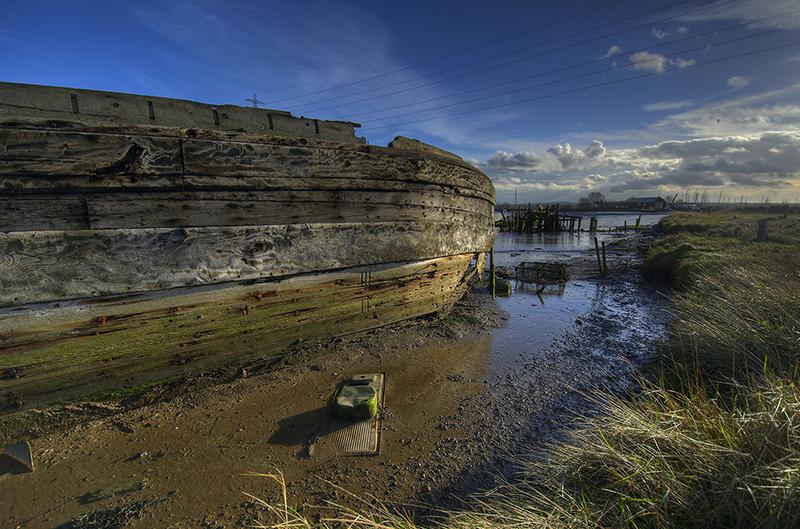 a forgotten boat