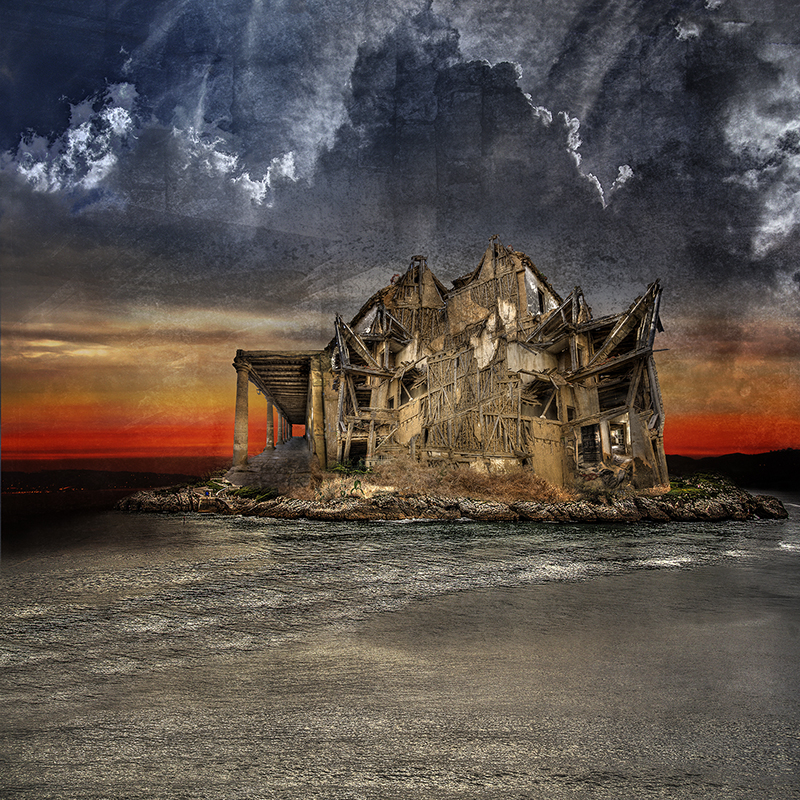 The ruin on the island