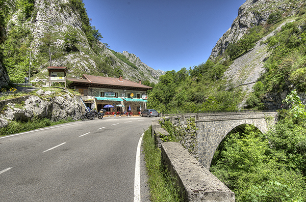Puente la Huera leaving Picos de Europa