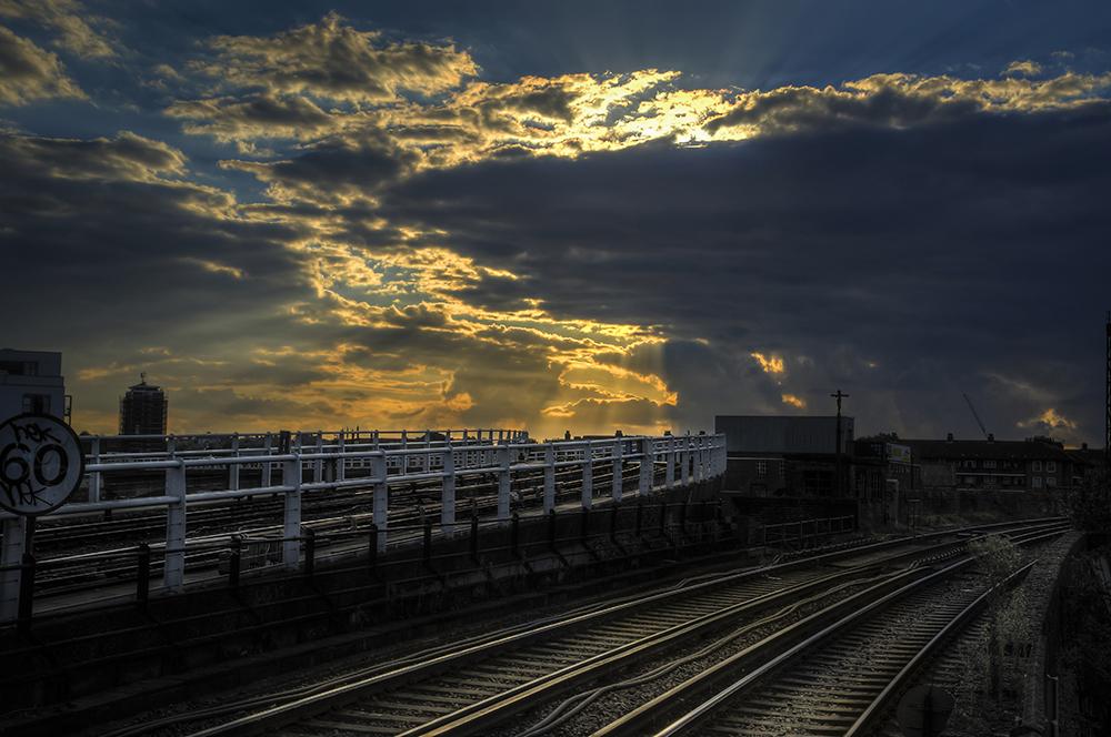 Greenwich railway tracks