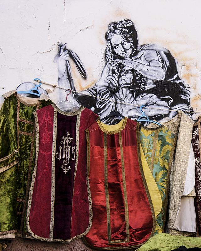 Cassocks-Graffiti